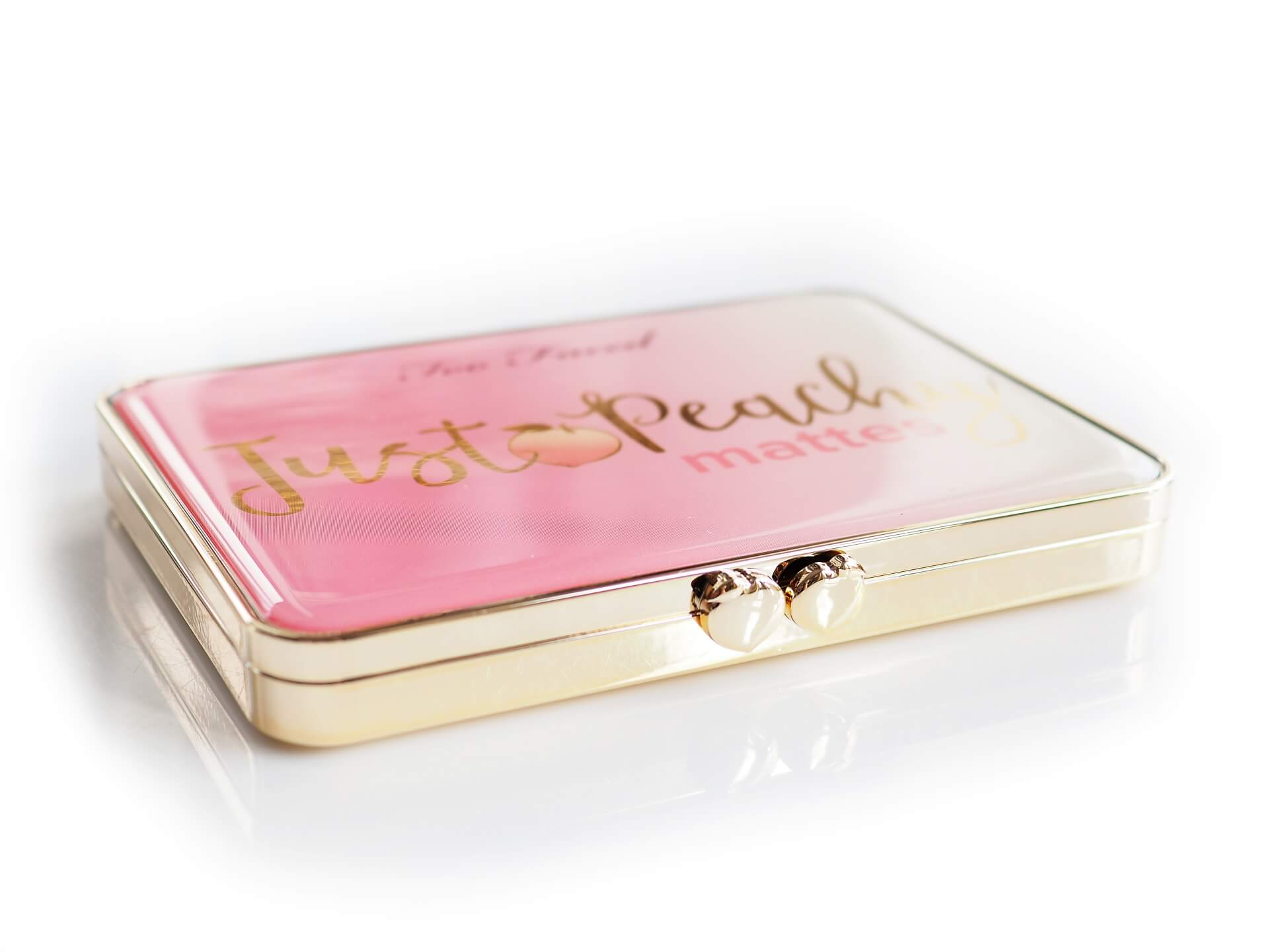 recenzja Too Faced Just Peachy Mattes