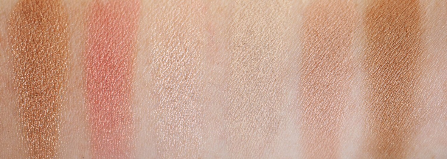 swatches By Terry Light And Tan Vibes Sun Designer Palette