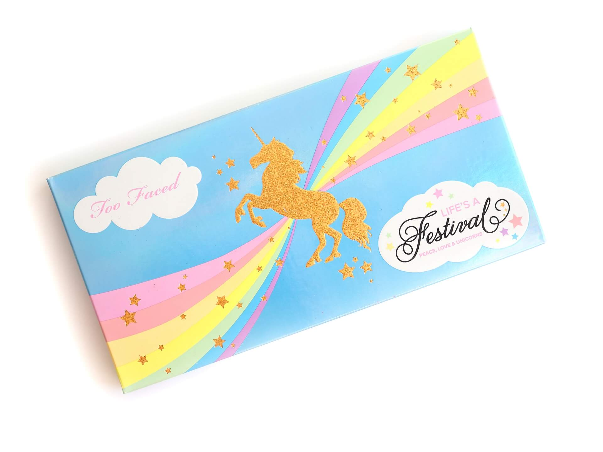 recenzja Too Faced Life's A Festival Eye Shadow Palette