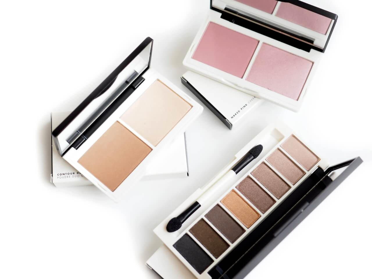Lily Lolo Makijaż Mineralny – Naked Pink Cheek Duo, Sculp and Glow, Laid Bare Eye Palette | #mojeminerały
