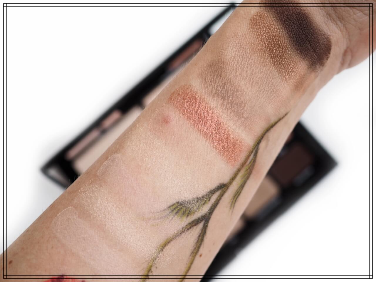 swatches Bobbi Brown Rosy Nudes Edition