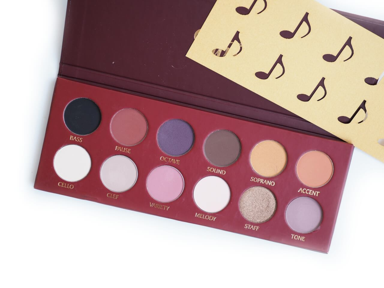 TUNE The (D)-dur Eyeshadow Palette