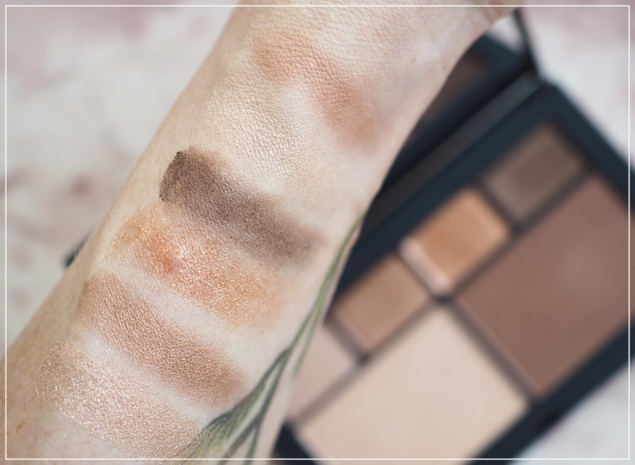 swatches Nars Atomic Blonde