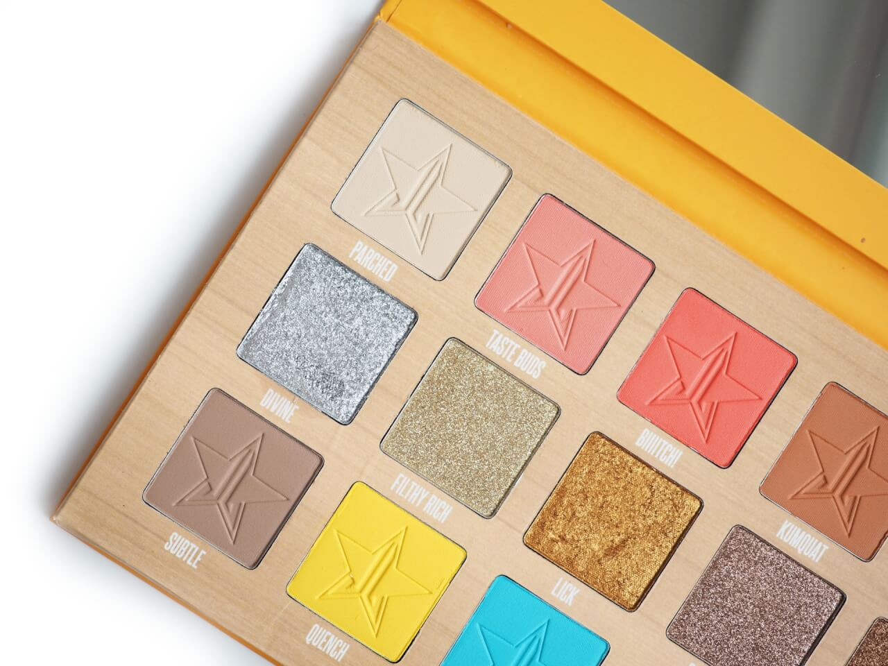 Jeffree Starr Thirsty Palette Recenzja