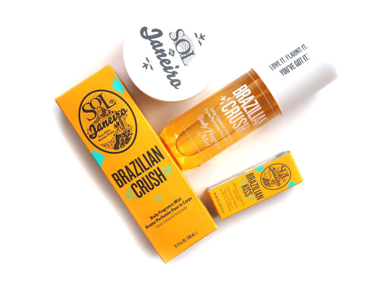 Sol De Janeiro Brazilian BUM BUM Cream – Brazilian CRUSH –  Brazilian KISS