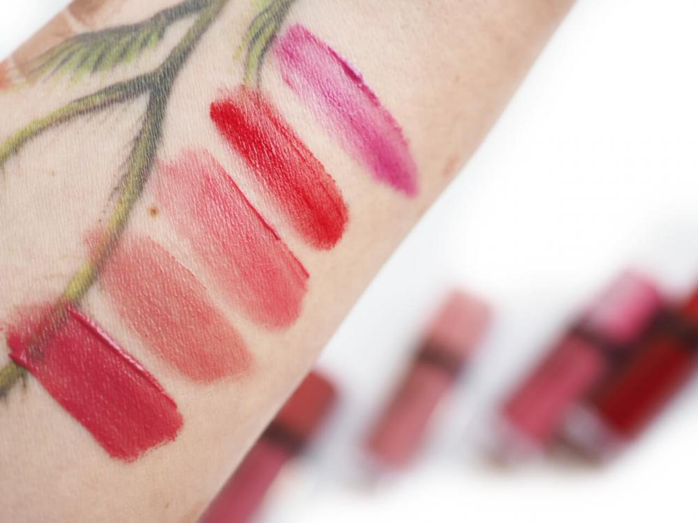 swatches Bourjois Rouge Edition Velvet