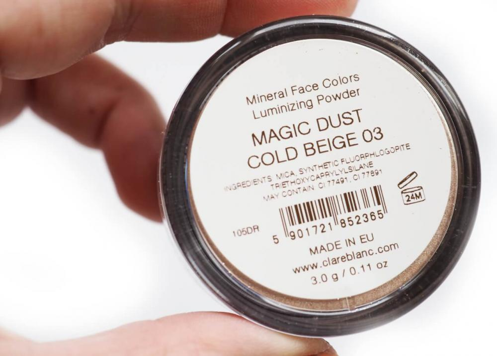 Clare Blanc Magic Dust Cold Beige