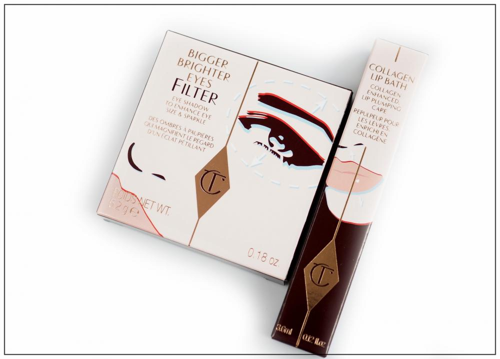 Charlotte Tilbury Bigger Brighter Eyes  EXAGGER-EYES + Collagen Lip Bath Recenzja / Swatches / Makijaż