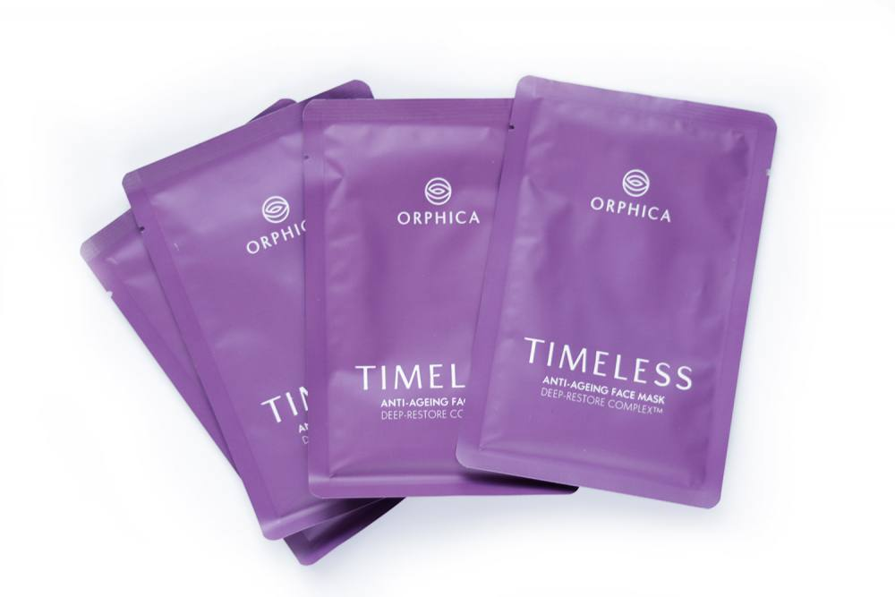 Orphica Timeless anti-Aging Face Masks