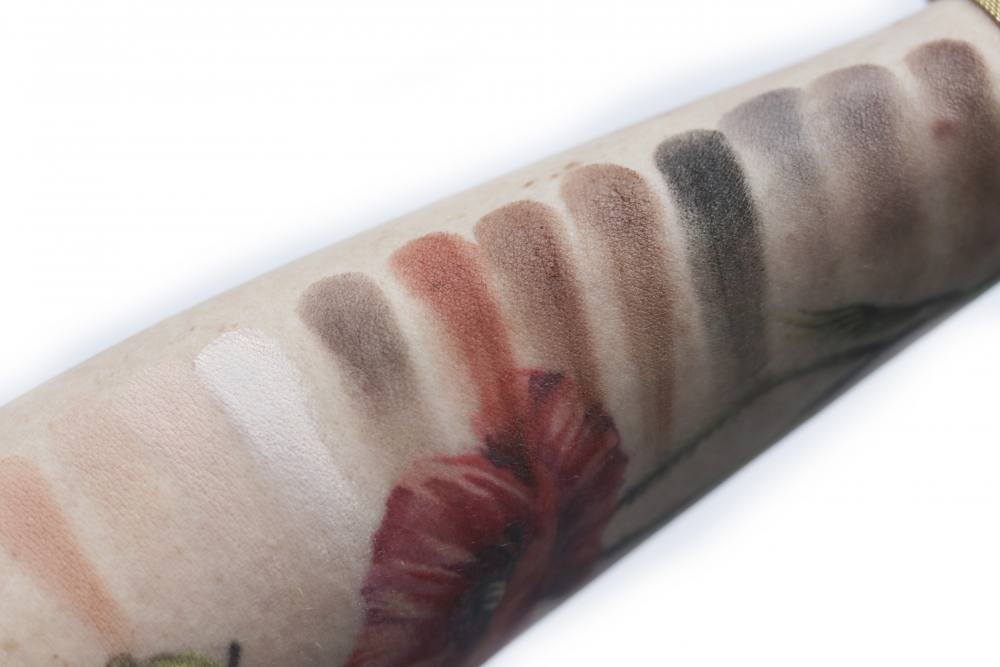 swatches Viseart 01 Neutral Mattes Eyeshadows