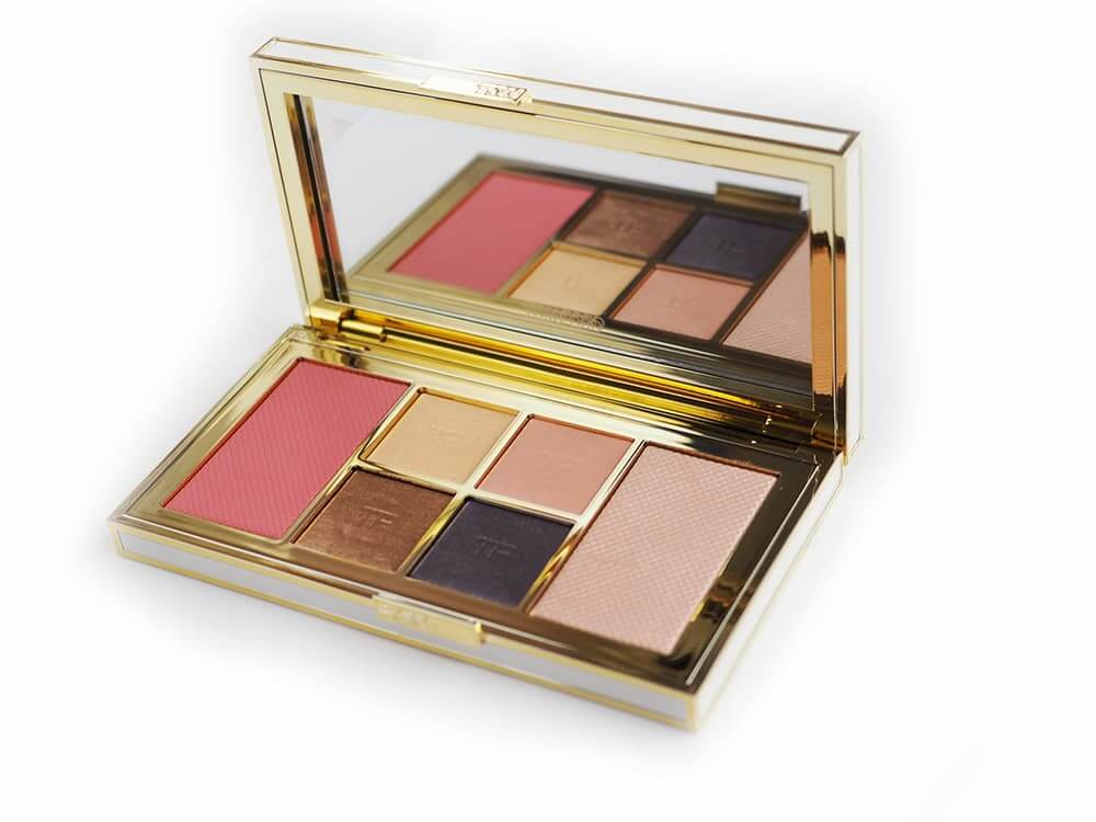 TOM FORD Soleil Eye & Cheek Palette Winter 2018 luksusowa paleta do makijażu