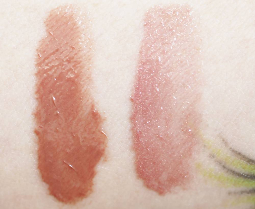 Swatches Chanel Rouge Coco Gloss