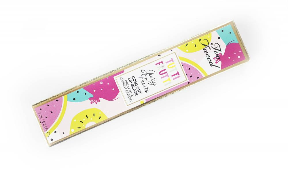 Too Faced Juicy Fruit Home Slice Comfort Lip Glaze