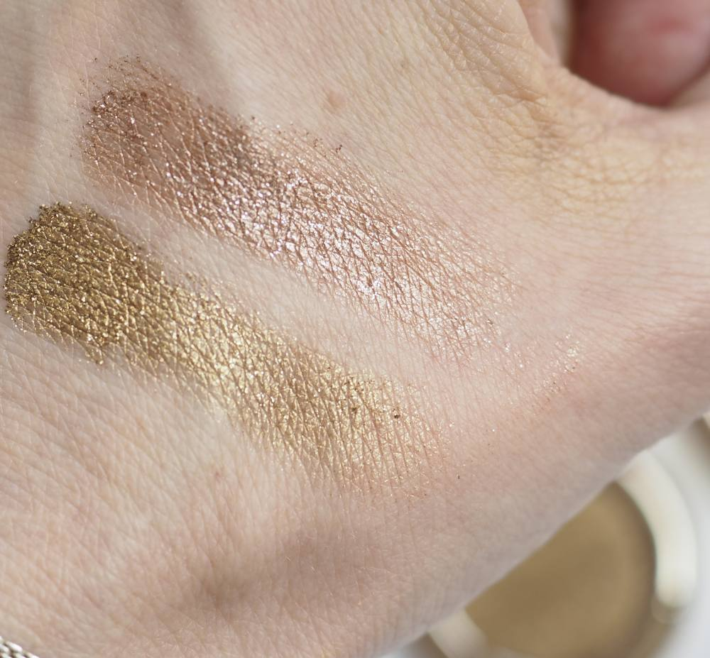 Swatches Clarins Ombre Sparkle