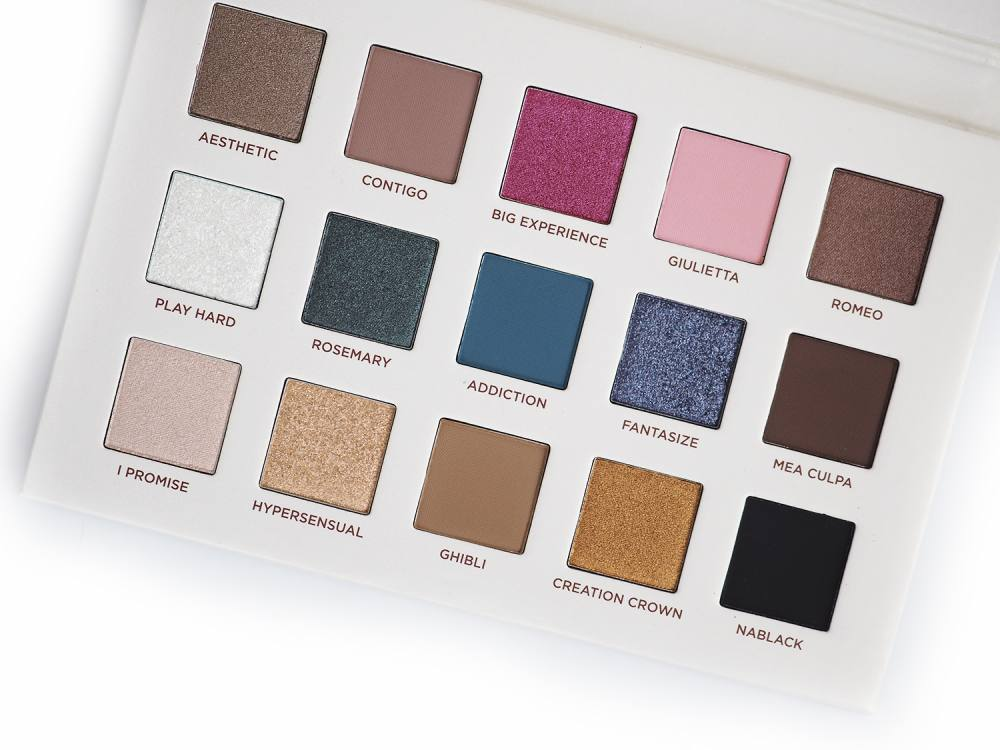Nabla Secret Palette Eyeshadow