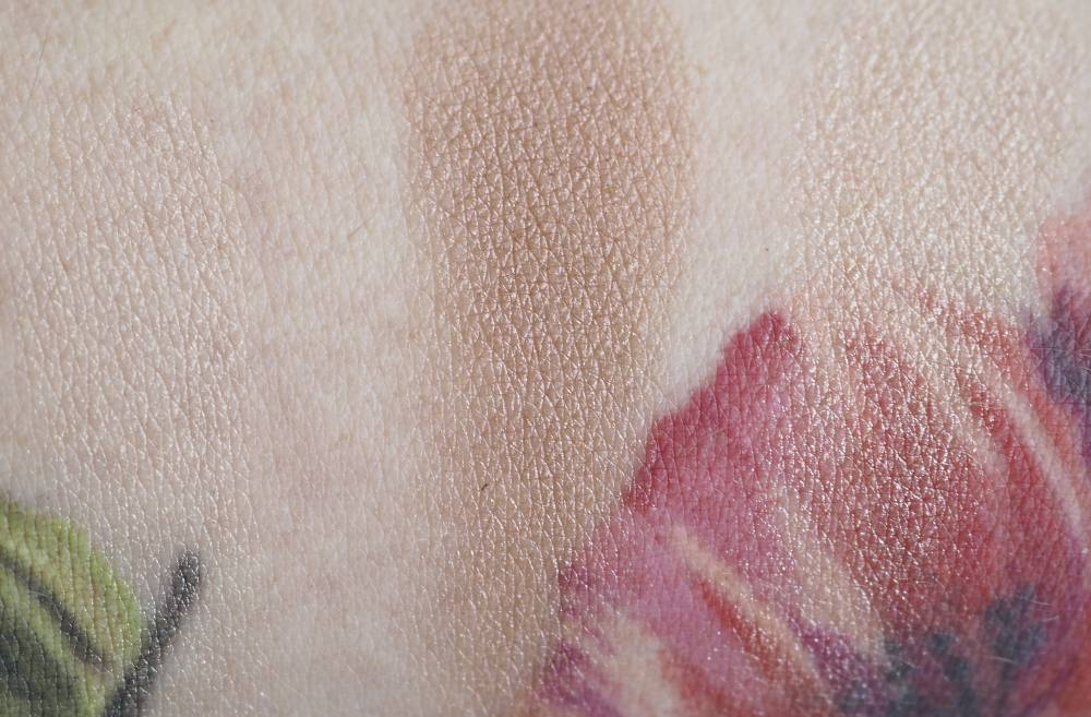 Swatches Nars Hot Nights Face Palette