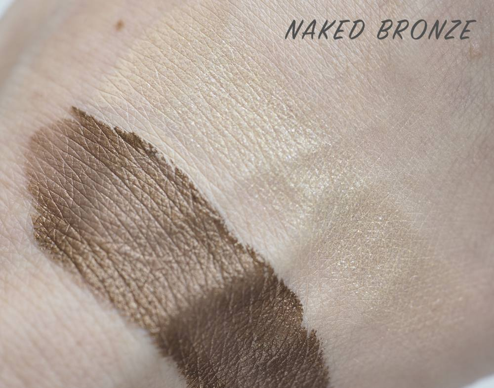 swatches Tom Ford 01 Naked Bronze Cream and Powder Eye Color