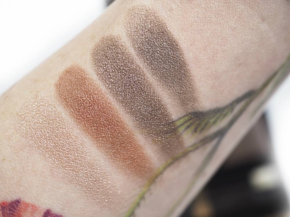 Swatches Tom Ford Body Heat Eye Color Quad