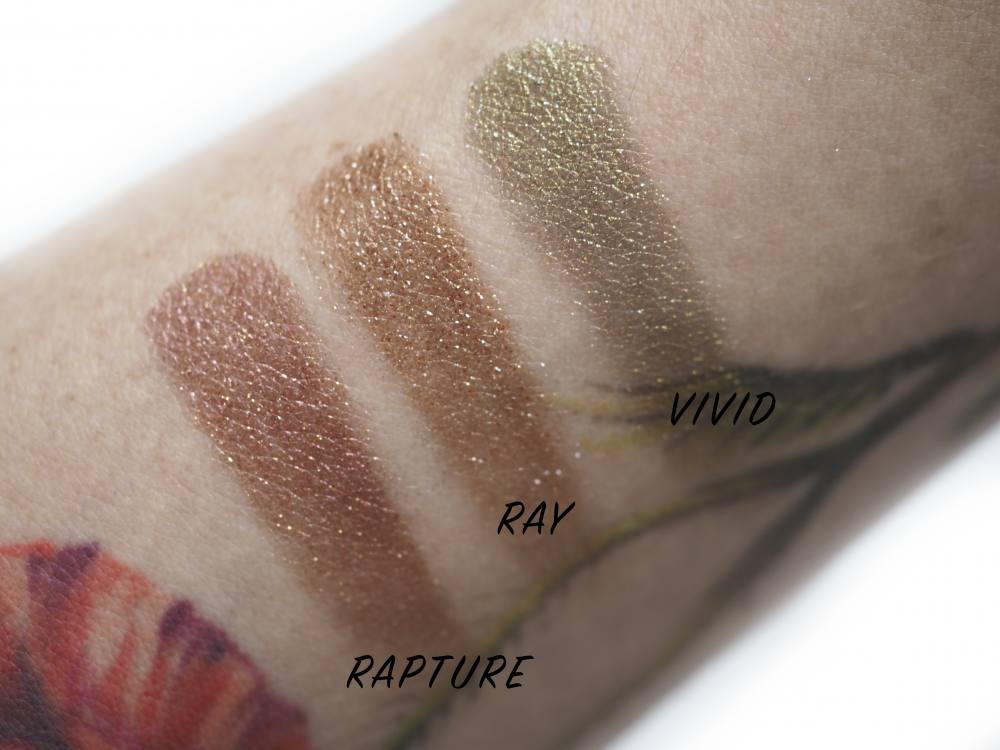 Swatches Hourglass Scattered Light Glitter Eyeshadow