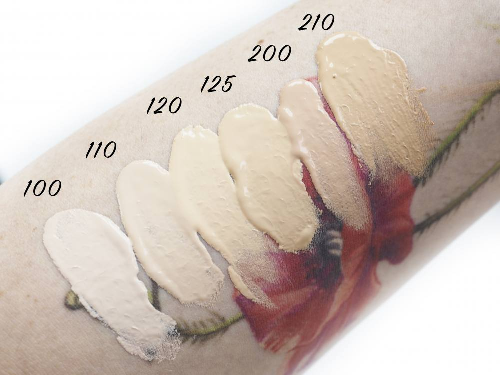 Swatches Bourjois Always Fabulous Full Coverage Foundation