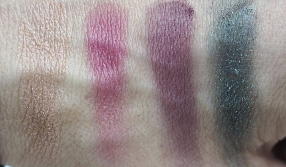 Swatches Suqqu Designing Color Eyes 127