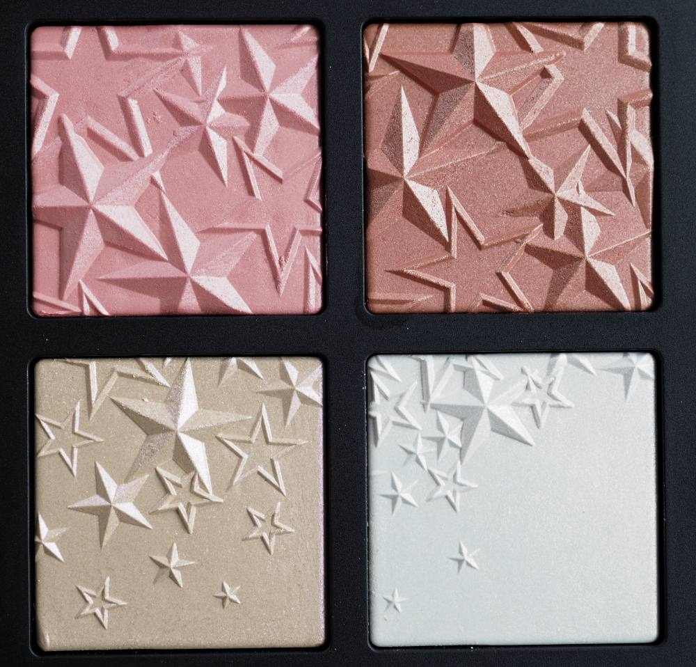 Swatches MAC Star-Dipped Face Compact