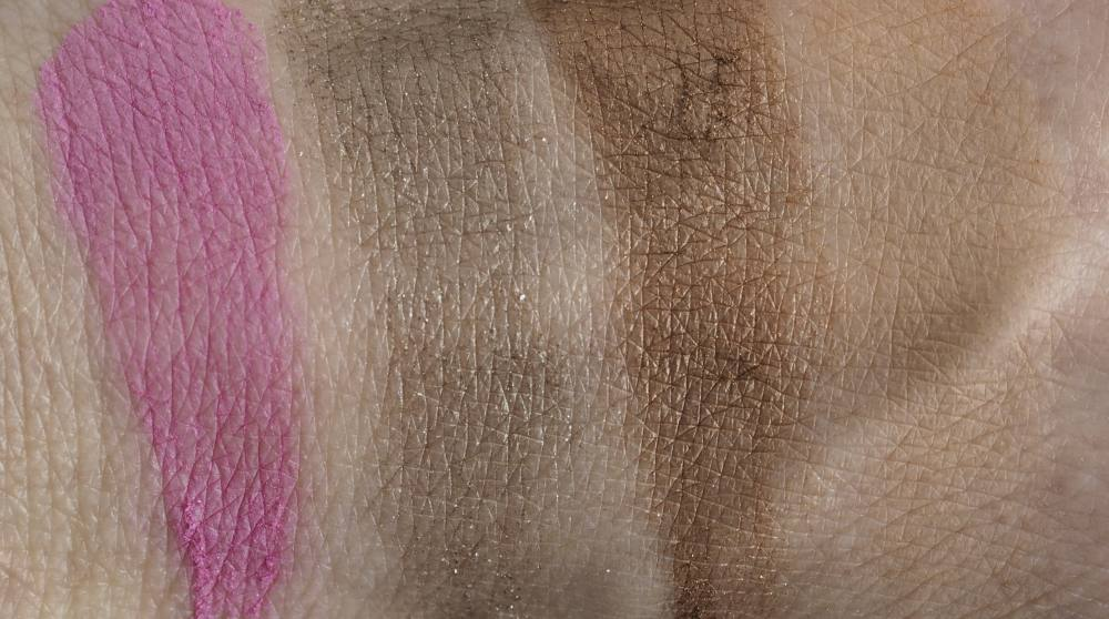 Swatches Smashbox Cosmic Celebration Star Power Face + Eye Shadow Palette
