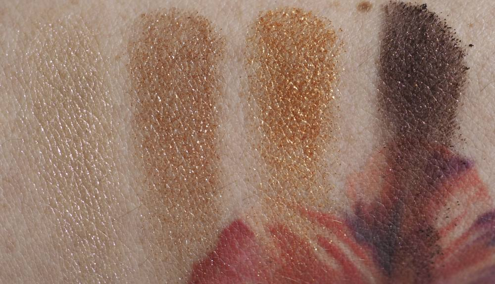 Swatches Charlotte Tilbury Celestial Eyes - Luxury Palette of Pops