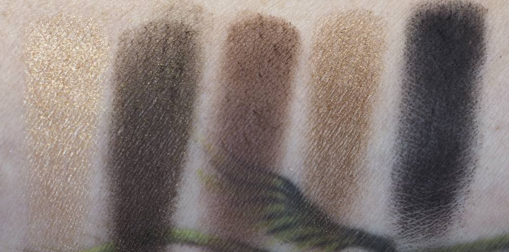 Swatches Hourglass Vista Graphik Eyeshadow Palette
