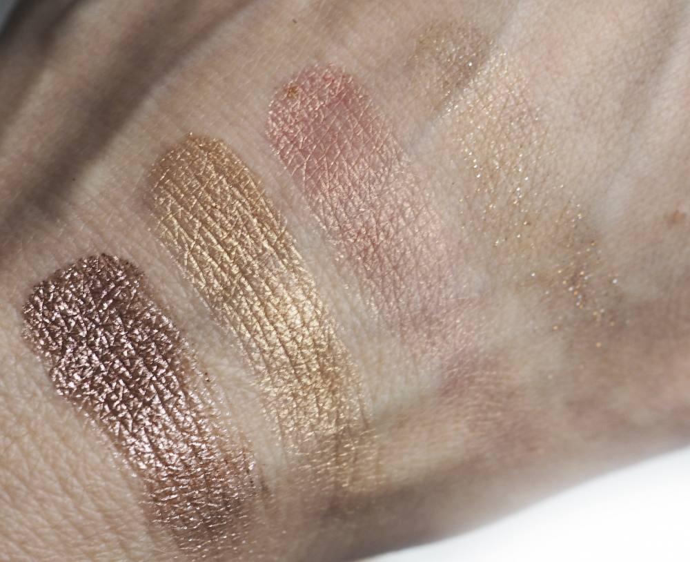 Swatches Tarte Foil Finger Face Quad
