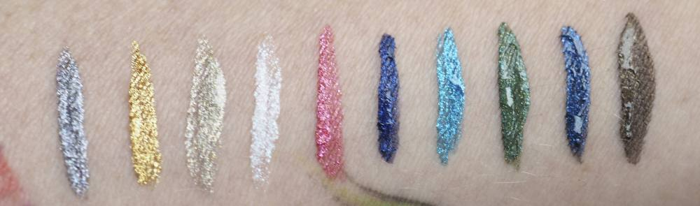 Swatches Rimmel WONDER'SWIPE