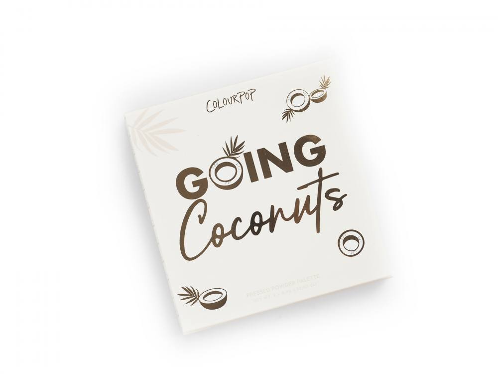 Colourpop Going Coconuts Eyeshadow Palette