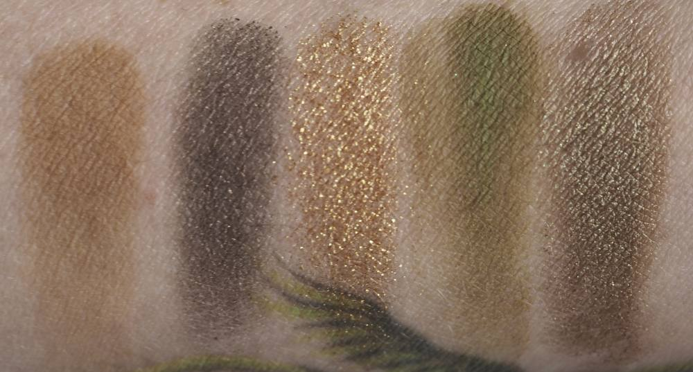 Swatches Natasha Denona Mini Gold