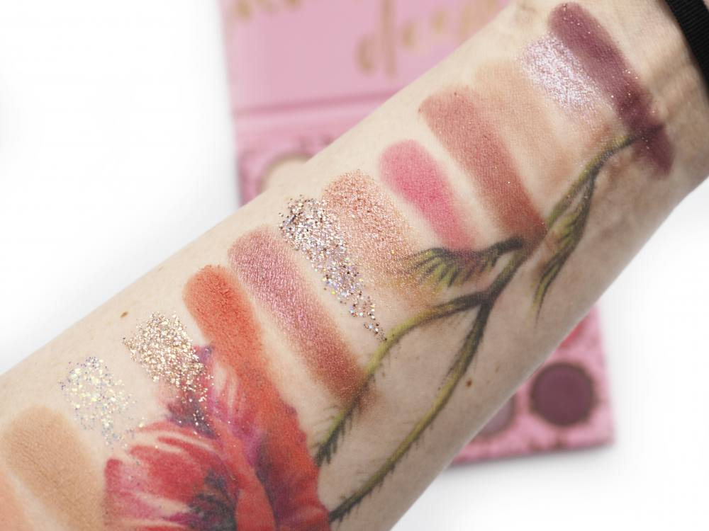 Swatches Colourpop Truly Madly Deeply