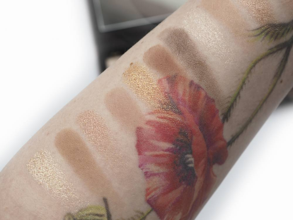 Swatches Too Faced The Natural Nudes
