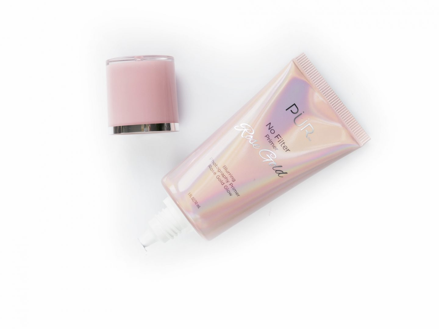 Pur Cosmetics No Filter Blurring Photography Primer Rose Gold Glow