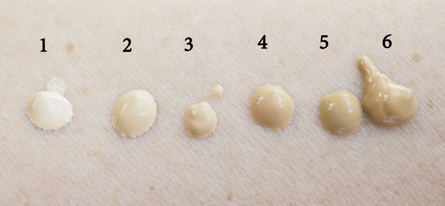 swatches Max Factor Miracle Second Skin