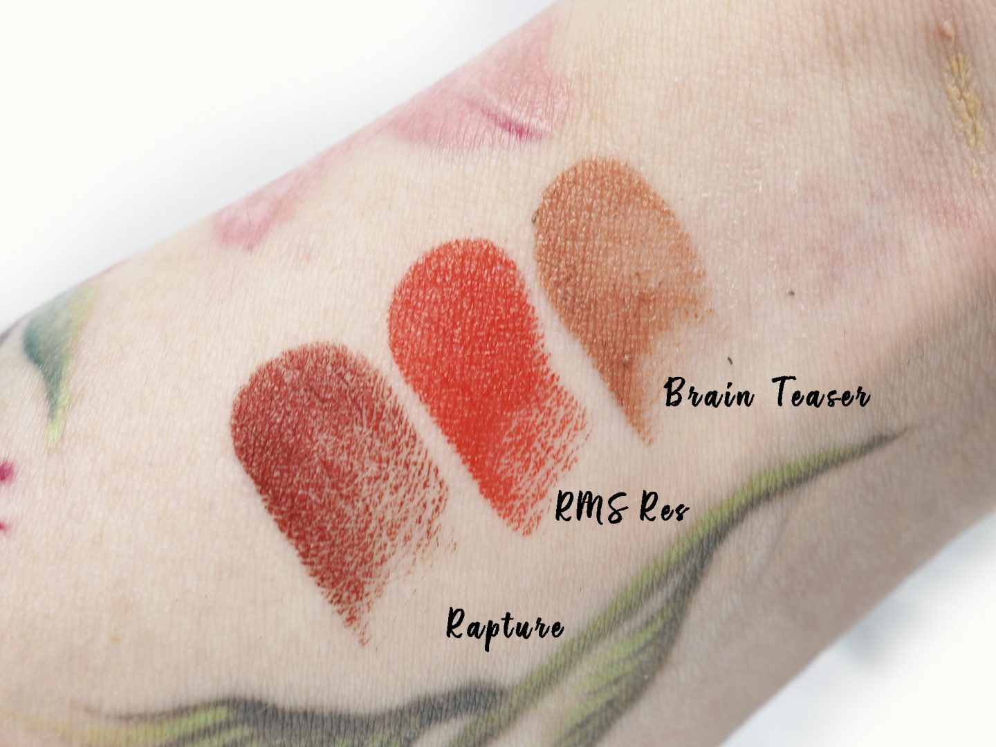 Swatches RMS Wild and Desire